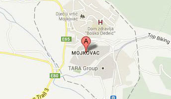mojkovac-google map